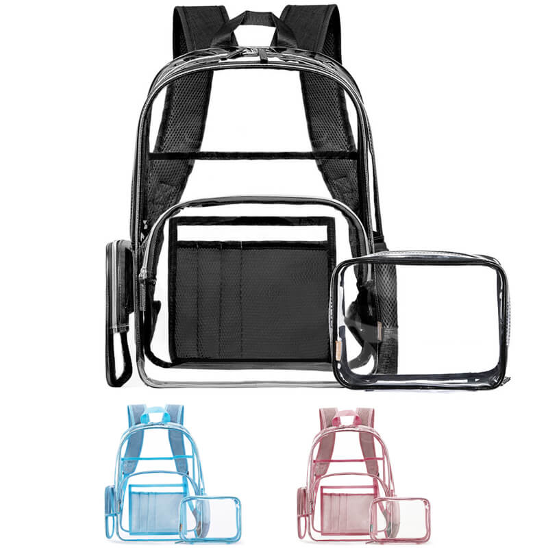 CB03 Clear Backpack