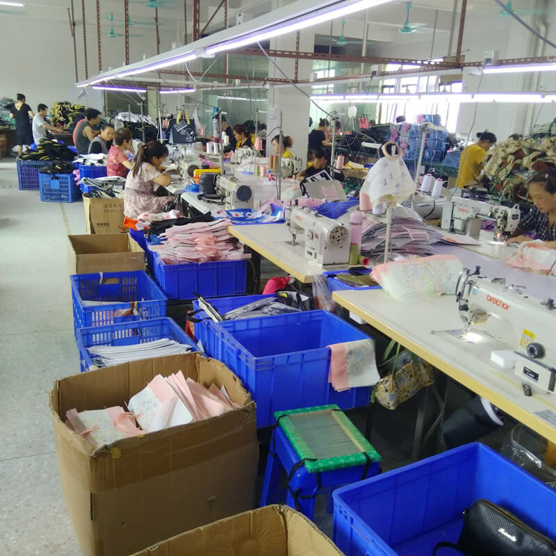 Linway bag production department