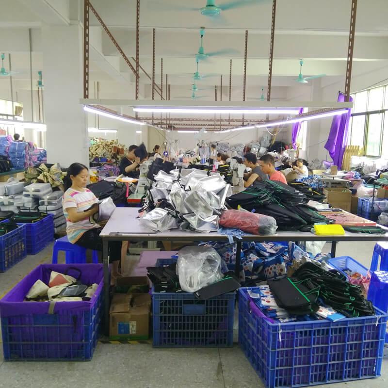 Linway bag production workshop