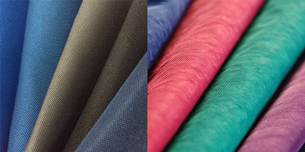 Bags & backpacks fabric options